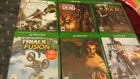 Xbox one, ps3, and ps4 games  25 bucks each