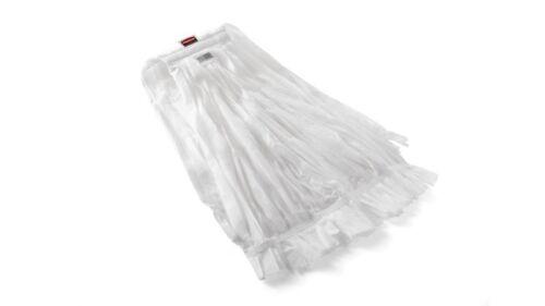 "Rubbermaid 2025508 #32 Disposable Wet Mop, 5"" Headband, White, XLarge, 24/cs"