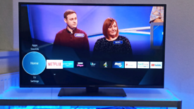 """43"""" 4K UHD SMART PANASONIC LED TV WITH REMOTE, WIFI, APPS"""