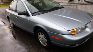 2002 Saturn SL1 138,000KM Quebec Plated