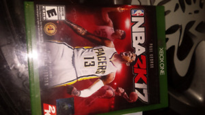 NBA2K17 and FIFA17 for Xbox one