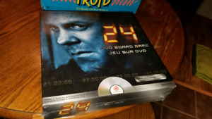 "2005 "" 24 "" DVD board game Tv series still sealed"
