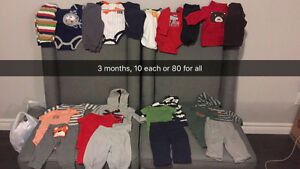 Boys/girls clothing newborn to 4T London Ontario image 1