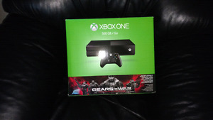 500G XBox One and 1 game