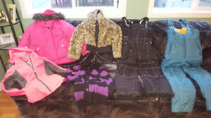 Kids and Ladies Winter Jackets / Snow Pants