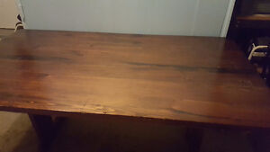 solid pine dining table Peterborough Peterborough Area image 1