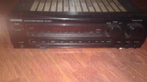 For sale Kenwood Receiver.old school with floor speakers