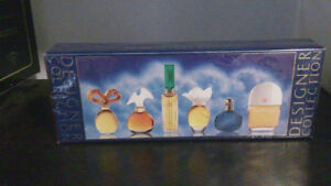 Brand New Designer Collection Perfumes gift box - sealed in box