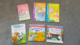 Early Reader books (ladybird, usborne)