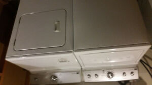 Maytag Centennial commercial technology washer and dryer set