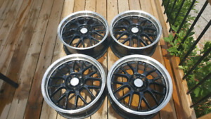 "18"" ASA Rims 5x114 Bolt Pattern."