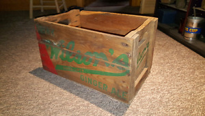 Wilson's Ginger Ale crate