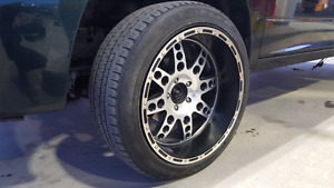 "22"" Rims & Tires 5x139.7mm / 5.5"