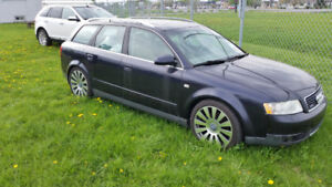 AUDI A4 V6 3.0 2002 WAGON BOSE HEATED SEAT