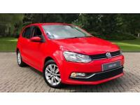 2015 Volkswagen Polo 1.2 TSI SE Bluetooth Day time Manual Petrol Hatchback