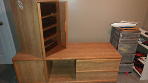 Entertainment unit for stereo and tv