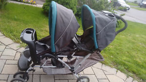 Like new - Graco Double Stroller