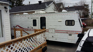 jayco eagle 34 ft with pull out