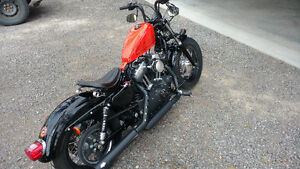 Harley Davidson sportster 1200cc Forty-Eight 2012