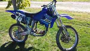 2001 yz250f project