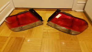 02-03 Mitsubishi Lancer OEM Tail lights, Bulbs included
