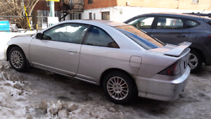 2004 SI civic  automatic 116000km