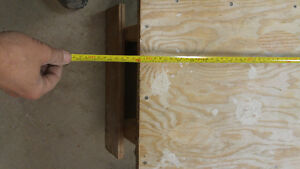 "FOLDING DRYWALL / PAINTERS BENCH 11.5"" HIGH 48"" LONG London Ontario image 3"