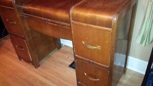 Mahogany  Dresser - antique art deco