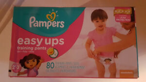Brand New (Unopened) Pampers Easy Up Diaper Training Pants 2T-3T