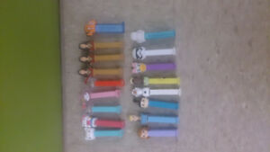 17 Pez Dispensers
