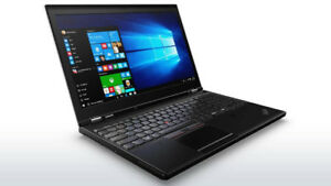 LENOVO THINKPAD P51✔i7-7700HQ✔16GB RAM DDR4✔512GB SSD✔QUADRO 4GB