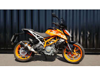 2017 KTM Duke 390 2 Former Keepers 478 Miles Immaculate