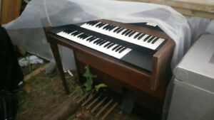 Old Piano, likely not working, missing leg, electrohome york
