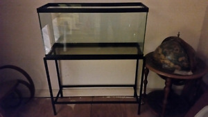30 gallon tank and matching black stand