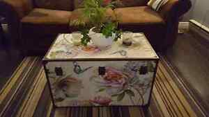 Flower chest/coffee table!