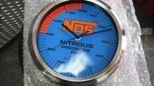 "new nos 10"" chrome wall clock battery AA"