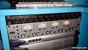 UNIVERSAL AUDIO 4 710 PREAMPS Ashgrove Brisbane North West Preview