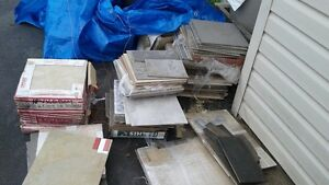 DOZENS OF NEW CERAMIC TILES VARIOUS SIZE AND COLOURS
