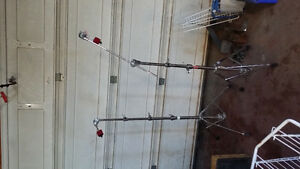 Pearl Rack and Symbol stands, Electric Kick