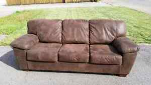 Microfiber couch & love seat for sale