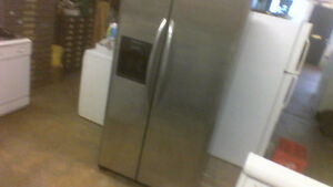 Frigidaire 26 CU FT Side X Side Stainless Steel Fridge