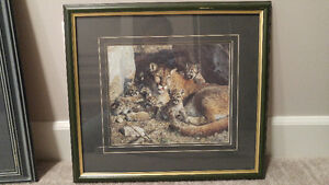 Carl brenders mountain lion reproduction