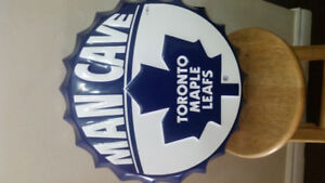 Toronto Maple Leafs Large Bottle Cap Collectable