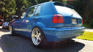 Wide body mk3 golf