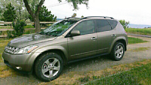 PRICED FOR QUICK SALE 2004 Nissan Murano SL AWD $5500 takes