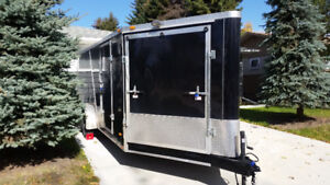 2013 drive in drive out enclosed trailer