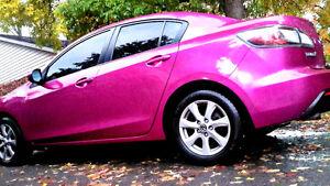 Mazda 3 Fuschia