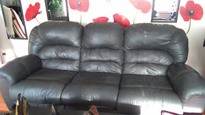 Pure leather couch