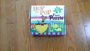 Hop on Pop Dr Seuss - 48 Piece Floor Puzzle  Great for Day Cares