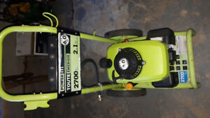 Gas Pressure washer--6hp  2700psi